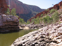 Ormiston Gorge - Courtesy of the PJB collection and Central Australia visit.