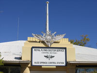 Royal Flying Doctor Service in Alice Springs