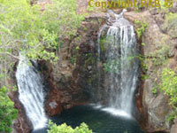 Waterfalls, Tomler Falls, Florence Falls  and Wangi Falls in Litchfield National Park 2 hours south of Darwin via the Stuart Highway in Northern Territory