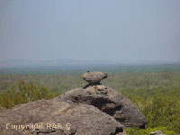 Nourlangie Rock in Kakadu National Park in Northern Territory Australia