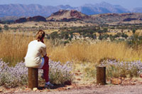 Mt Sonder  - West MacDonnell ranges travel guide and tours courtesy of Northern Territory Tourism