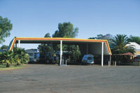 Erldunda Roadhouse in Central Australia courtesy of Tourism NT for the promotion of travel to Uluru