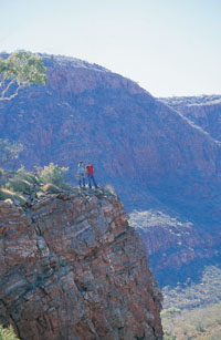 Ormiston Gorge - West MacDonnell ranges travel guide and tours courtesy of Northern Territory Tourism