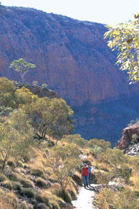 Ormiston Gorge courtesy of NT Tourism