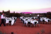 sounds of silence dinner with views of Uluru