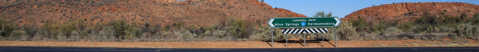 The West MacDonnell Ranges and the East MacDonnell Ranges known as the MacDonnells Ranges have major tourist icon places of interest within approximatley 100 kilometres  of Alice Springs on sealed roads then narrowing down to recognised 4WD offroad dirt unsealed tracks from then on. Western MacDonnell Ranges tourist places to visit are Standley Chasm, Simpsons Gap, Orche Pits, Glen Hellen Gorge, Orminston Gorge,Ellery Creek Big Hole, Mt Sonder, Mereenie Loop and on the Eastern MacDonnell Ranges tourist places to visit are Trephina Gap, Corroboree, N'Dhalla Aboriginal Rock Art, Ross River Resort in Northern Territory Australia